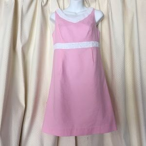 Lilly Pulitzer pink textured dress